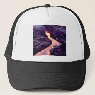 lava bend curves trucker hat