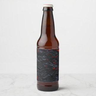 lava bottle label