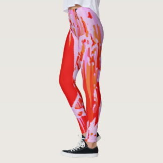 lava by the sea leggings