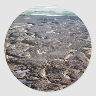 Lava Fields Classic Round Sticker
