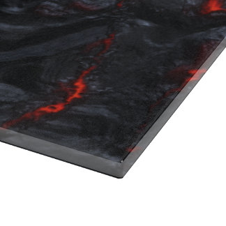 lava glass cutting board