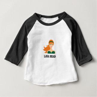 lava head woman baby T-Shirt