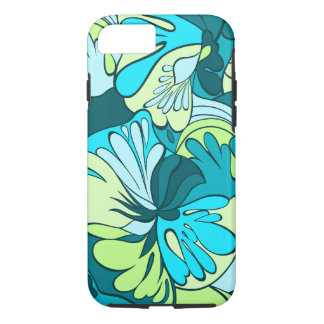 Lava-Lamp Retro Psychedelic Floral iPhone 7 Case