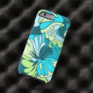 Lava-Lamp Retro Psychedelic Floral Tough iPhone 6 Case