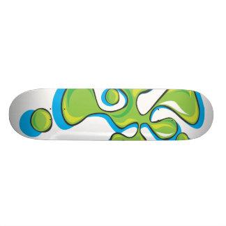 Lava lamp skateboard