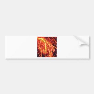 lava lightning bumper sticker