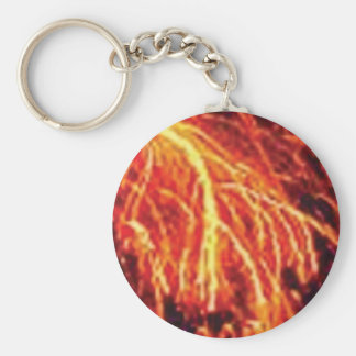 lava lightning keychain