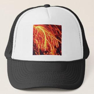 lava lightning trucker hat