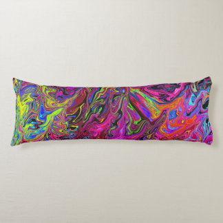 Lava of Colors  Body Pillow