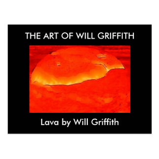 LAVA PAINTING POSTCARD