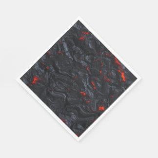 lava party napkins