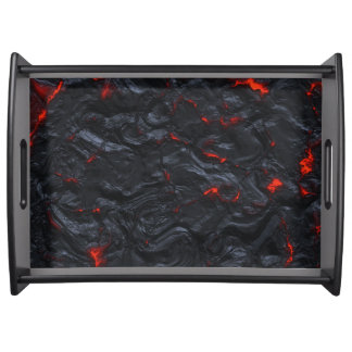 lava party serving tray