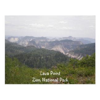 Lava Point Postcard