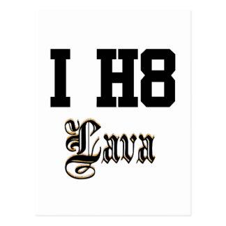 lava postcard