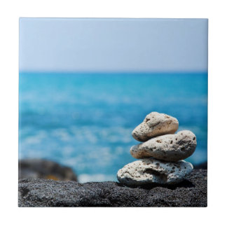 Lava Rock Coral Hawaii Ocean Tropical Beach Tile