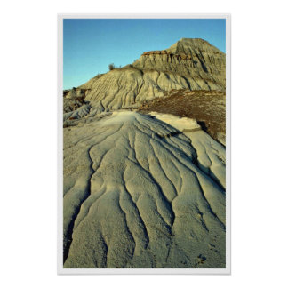 Lava Rocks In Death Valley Poster