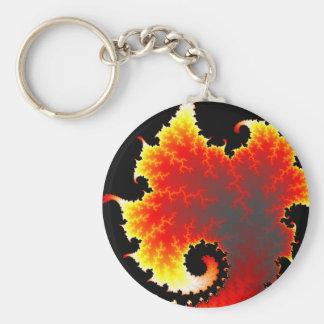 Lava Sea - Fractal Keychain