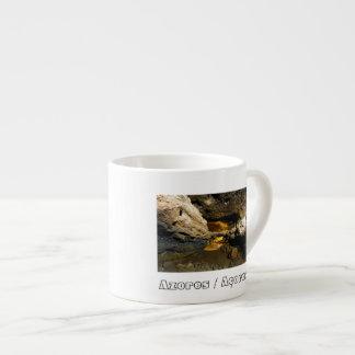 Lava tube cave espresso mug
