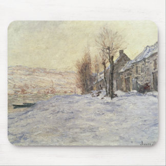 Lavacourt under Snow, c.1878-81 Mouse Pad