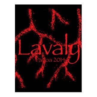 Lavaly Pahoa Postcard