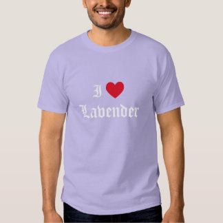 Lavande d'amour de la calligraphie I T Shirt