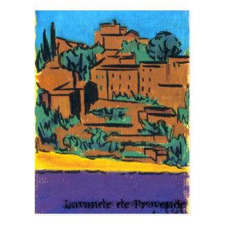 Lavande de Provence Postcard