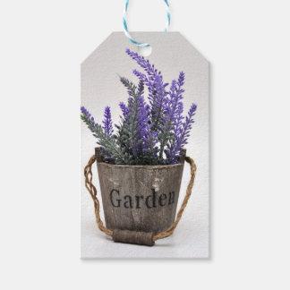 lavander gift tags