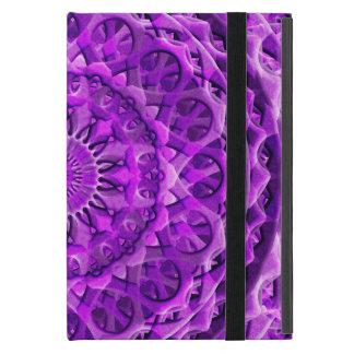 Lavander Lattice Mandala Cases For iPad Mini
