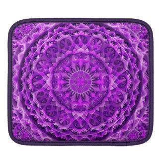 Lavander Lattice Mandala iPad Sleeves