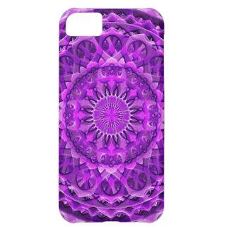 Lavander Lattice Mandala iPhone 5C Cases