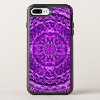 Lavander Lattice Mandala OtterBox Symmetry iPhone 7 Plus Case