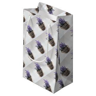 lavander small gift bag