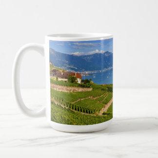 Lavaux region, Vaud, HDR Coffee Mug
