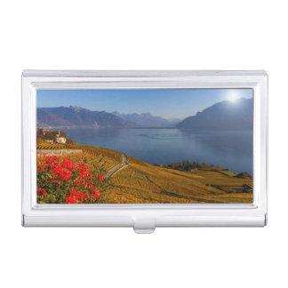 Lavaux region, Vaud, Switzerland Business Card Holder