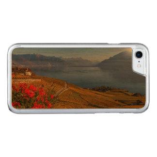 Lavaux region, Vaud, Switzerland Carved iPhone 8/7 Case