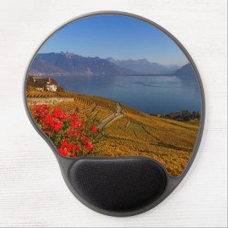 Lavaux region, Vaud, Switzerland Gel Mouse Pad
