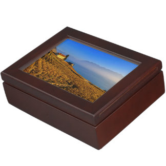 Lavaux region, Vaud, Switzerland Keepsake Box