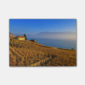 Lavaux region, Vaud, Switzerland Post-it® Notes