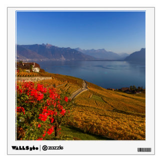 Lavaux region, Vaud, Switzerland Wall Sticker