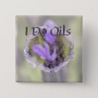 Lavendar and Lace 2 Inch Square Button