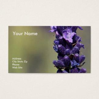 Lavendar Business Card