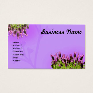 Lavendar Business Card