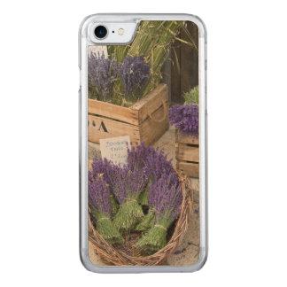 Lavendar for sale, Provence, France Carved iPhone 8/7 Case