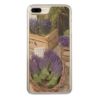 Lavendar for sale, Provence, France Carved iPhone 8 Plus/7 Plus Case