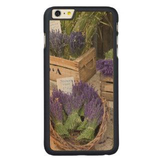 Lavendar for sale, Provence, France Carved Maple iPhone 6 Plus Case