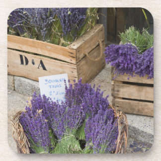 Lavendar for sale, Provence, France Drink Coasters