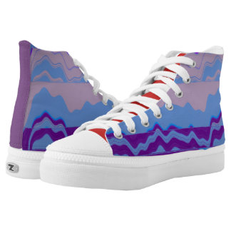 Lavendar High Tops