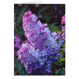 Lavendar Lilacs Card