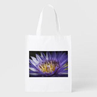 Lavendar Lily Grocery Bag