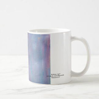 Lavendar Swirl Mug